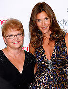 Cindy Crawford and mom Jennifer Moluf pose at Soho House to launch her 'Style' Line at JC Penney in New York City, USA on September 9, 2009.