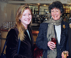 Left to right, PRINCESS JESSICA FRANKOPAN, her mother LADY SAINSBURY, at a luncheon in London on 26th January 1998.MET 25 2OLO