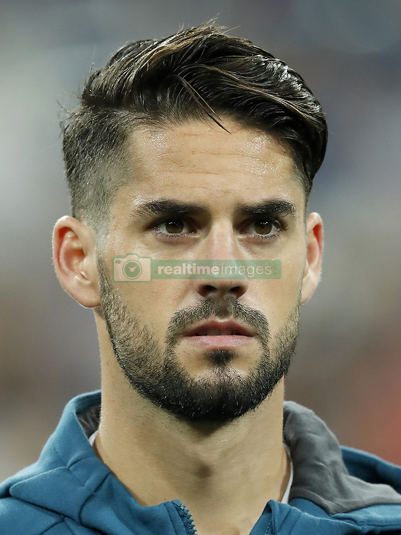 Isco of Real Madrid during the UEFA Champions League group H match between Real Madrid and APOEL FC on September 13, 2017 at the Santiago Bernabeu stadium in Madrid, Spain.