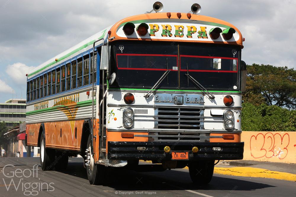 Bluebird 84 city bus, Grenada Nicaragua