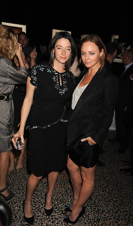 Left to right, MARY McCARTNEY and STELLA McCARTNEY at British Style Observed - part of National Magazine's 30 Days of Fashion & Beauty festival featuring photographs by Mary McCartney with proceeds from the evening going to Macmillan Cancer Care held at the Natural History Museum, Cromwell Road, London on 16th September 2008.