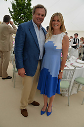 The Marquess & Marchioness of Milford Haven at Cartier Queen's Cup Polo, Guard's Polo Club, Berkshire, England. 18 June 2017.<br /> Photo by Dominic O'Neill/SilverHub 0203 174 1069 sales@silverhubmedia.com