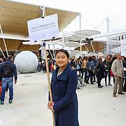 Padiglione Corea, Expo 2015  Milano, 17/10/2015.