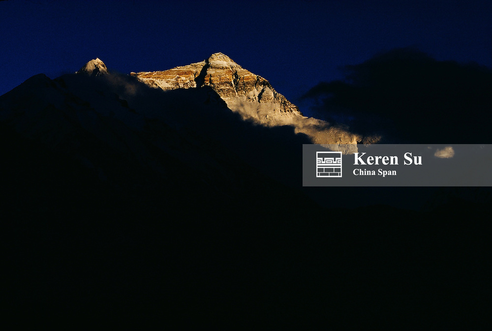 Mt. Everest, Tibet, China.