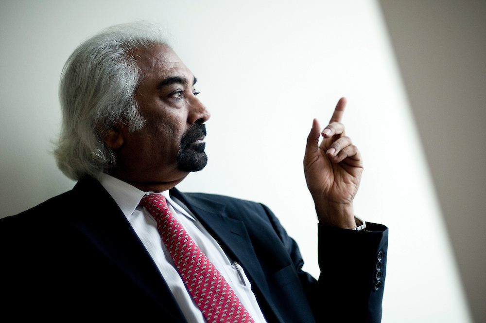 Sam Pitroda or Satyanarayan Gangaram Pitroda is an inventor, entrepreneur and policymaker. Currently Advisor to the Prime Minister of India on Public Information Infrastructure & Innovations, he is also widely considered to have been responsible for India's communications revolution...Photographer: Chris Maluszynski /MOMENT