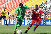 Fotball<br /> Frankrike<br /> Foto: DPPI/Digitalsport<br /> NORWAY ONLY<br /> <br /> FOOTBALL - AFRICAN NATIONS CUP 2010 - GROUP A - MALAWI v ALGERIE - 11/01/2010 <br /> <br /> RAFIK SAIFI (ALG) / PETER MPONDA (MAL)