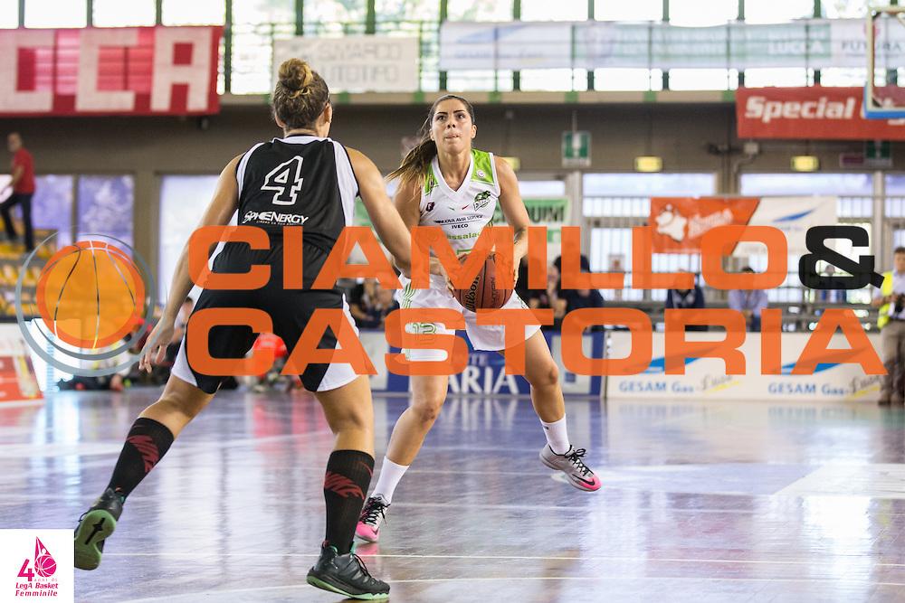 Benedetta Bagnara <br /> Carispezia La Spezia Passalacqua Ragusa<br /> LegA Basket Femminile 2016/2017<br /> Lucca, 02/10/2016<br /> Foto Elio Castoria/Ciamillo-Castoria