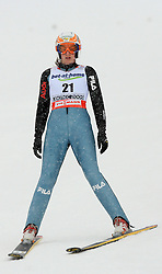 Evelyn Insam of Italy at Ski Jumping ladies Normal Hill Individual of FIS Nordic World Ski Championships Liberec 2008, on February 20, 2009, in Jested, Liberec, Czech Republic. (Photo by Vid Ponikvar / Sportida)