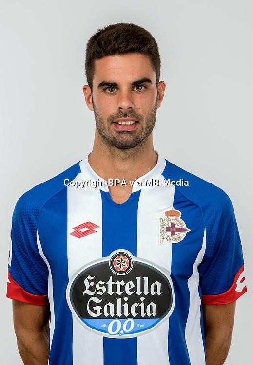 Spain - Liga BBVA 2015-2016 / <br /> ( R.C. Deportivo de La Coruna ) - <br /> Juan Dominguez Lamas