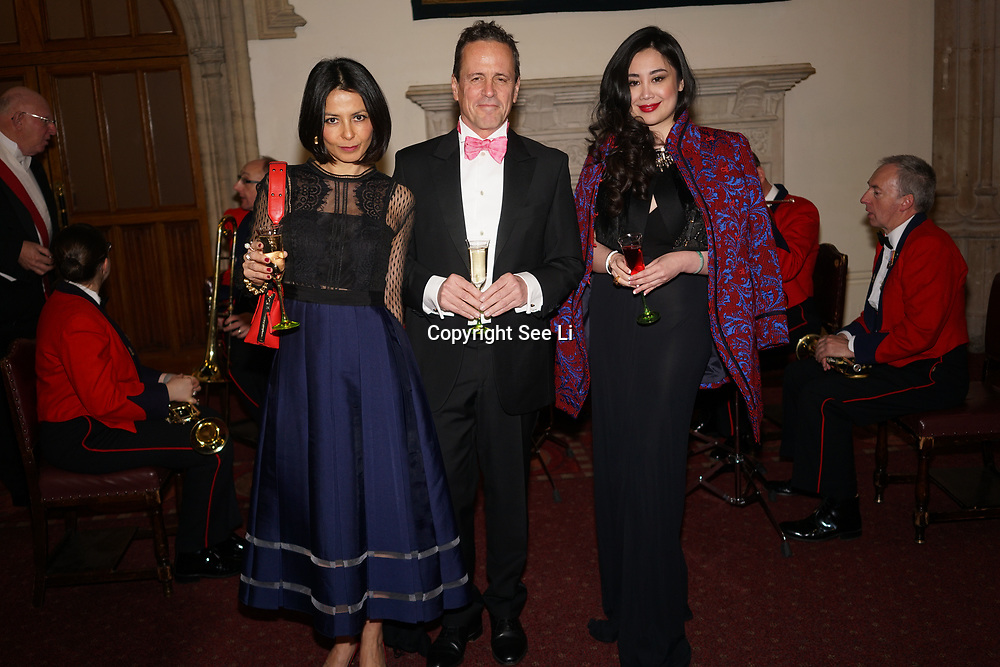 London,England,UK. 31th March 2017: Grace Bardin (R) attends the Athene Festival 2017 at Guildhall,London,UK. by See Li