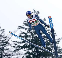 03.01.2015, Bergisel Schanze, Innsbruck, AUT, FIS Ski Sprung Weltcup, 63. Vierschanzentournee, Training, im Bild Anssi Koivuranta (FIN) // Anssi Koivuranta of Finland in action during Trial Jump of 63 rd Four Hills Tournament of FIS Ski Jumping World Cup at the Bergisel Schanze, Innsbruck, Austria on 2015/01/03. EXPA Pictures © 2015, PhotoCredit: EXPA/ Peter Rinderer