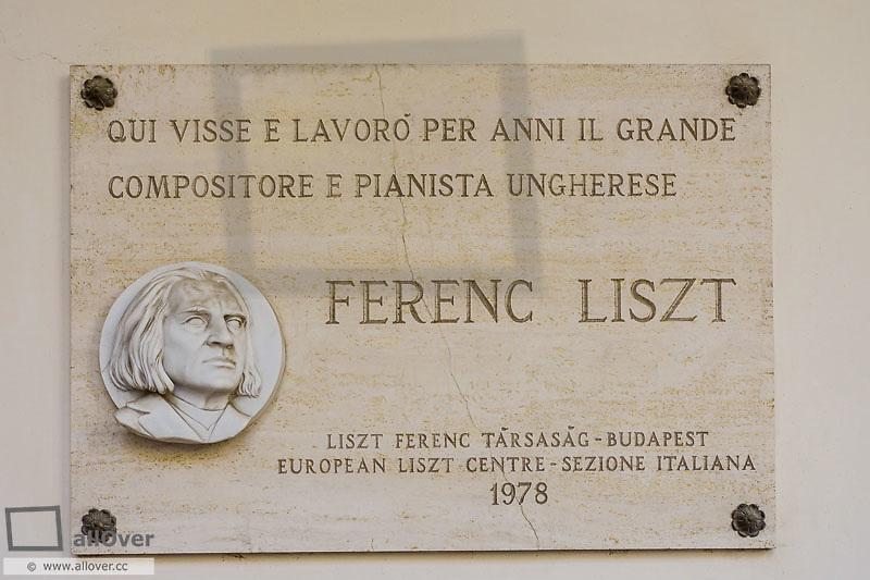 Ferenc Liszt, Franz Liszt, Villa d Este, Tivoli, Latium, Italy, UNESCO World Heritage Site