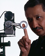Dr. Mandayam Srinivasan, founder of the MIT Touch Lab.