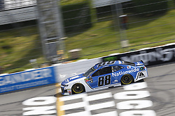 June 1, 2018 - Long Pond, Pennsylvania, United States of America - Alex Bowman (88) brings his car down the frontstretch during qualifying for the Pocono 400 at Pocono Raceway in Long Pond, Pennsylvania. (Credit Image: © Chris Owens Asp Inc/ASP via ZUMA Wire)