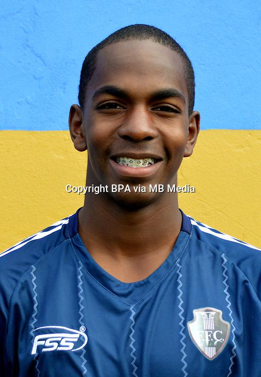 Colombia League - Postobom Liga 2014-2015 -<br /> Fortaleza Futbol Club  - Colombia / <br /> Jonathan Caicedo