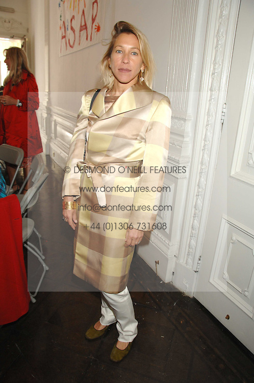 MAIA HIRST at a lunch in aid of African Solutions To African Problems held at Il Bottaccio, 9 Grosvenor Place, London on 20th May 2008.<br /><br />NON EXCLUSIVE - WORLD RIGHTS