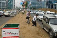 Gurgaon, le quartier des affaires de New Delhi, au sud de la ville. Gurgaon, an hour south of New Delhi is the new CDB.