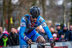 Zdenek STYBAR (40,CZE), 7th lap at Men UCI CX World Championships - Hoogerheide, The Netherlands - 2nd February 2014 - Photo by Pim Nijland / Peloton Photos