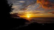 Timelapse, Hanalei Bay at sunset, Kauai, Hawaii