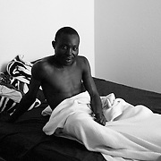 Jean-de Dieu Havyalimana enjoys waking up in his own bed after leaving a refugee camp that he lived in for decades.