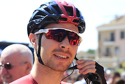Owain Doull (WAL) Team Ineos at sign on before the start of Stage 5 of La Vuelta 2019 running 170.7km from L'Eliana to Observatorio Astrofisico de Javalambre, Spain. 28th August 2019.<br /> Picture: Eoin Clarke | Cyclefile<br /> <br /> All photos usage must carry mandatory copyright credit (© Cyclefile | Eoin Clarke)