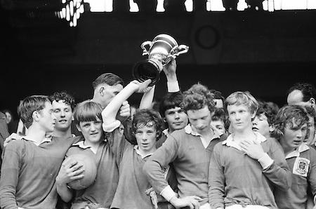 23.05.1971 Football All Ireland National Schools