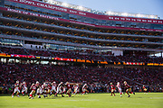 The San Francisco 49ers take on the Arizona Cardinals at Levi's Stadium in Santa Clara, Calif., on November 5, 2017. (Stan Olszewski/Special to S.F. Examiner)