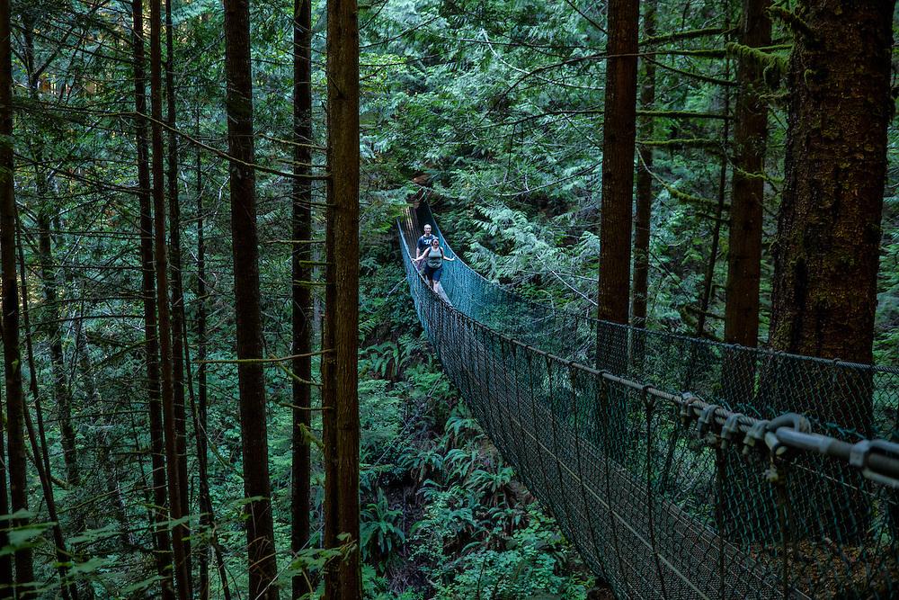 Canada, British Columbia, Vancouver Island, Juan DeFuca Provincal Park,China Beach,