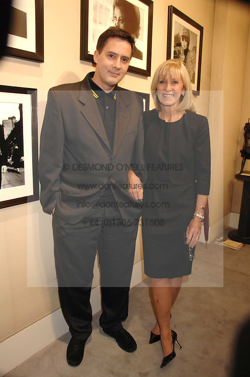 DAN DONOVAN and his step mother DIANA DONOVAN Private view of 'Terence Donovan: Image Maker And Innovator' at the Chris Beetles Gallery, 8 & 10 Ryder Street, London SW1 on 17th September 2007.<br /><br />NON EXCLUSIVE - WORLD RIGHTS
