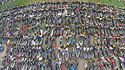 HANGZHOU, CHINA - JUNE 04: (CHINA OUT) <br /> <br /> Scrapped motors and electrombiles pile together on June 4, 2015 in Hangzhou, Zhejiang province of China. Most of those vehicles were illegal as they broke traffic principles or illegally when flew to the market, reported locally. <br /> ©Exclusivepix Media