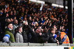 Bristol Rovers fans celebrate - Mandatory by-line: Dougie Allward/JMP - 15/02/2020 - FOOTBALL - Memorial Stadium - Bristol, England - Bristol Rovers v Blackpool - Sky Bet League One