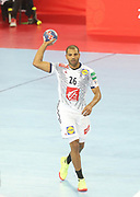 Nicolas Claire (France) during the EHF 2018 Men's European Championship, 2nd Round, Handball match between Serbia and France on January 22, 2018 at the Arena in Zagreb, Croatia - Photo Laurent Lairys / ProSportsImages / DPPI
