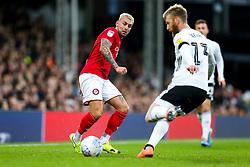 Jack Hunt of Bristol City is challenged by Tim Ream of Fulham - Rogan/JMP - 07/12/2019 - Craven Cottage - London, England - Fulham v Bristol City - Sky Bet Championship.