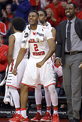 03 December 2016:  DJ Clayton(2) during an NCAA  mens basketball game between the New Mexico Lobos the Illinois State Redbirds in a non-conference game at Redbird Arena, Normal IL