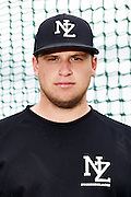 Joe Boyce.<br /> New Zealand Diamond Blacks Baseball Team headshots.<br /> Llloyd Elsmore Park, Pakuranga, Auckland, New Zealand. 4 February 2016.<br /> Copyright photo: Andrew Cornaga / www.photosport.nz
