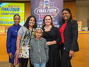 Brookline Elementary School is recognized during the reveal of the 32 finalists in the Houston ISD NCAA Read to the Final Four, November 11, 2015.