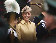The Order of the THISTLE PRINCE WILLIAM RECIEVES ORDER OF THE THISTLE FROM THE QUEEN IN EDINBURGH<br /> 05-07-12.<br /> <br /> Kate Middleton,  Her Royal Highness The Countess of Strathearn/ Duchess of Cambridge leaving St giles Cathederal in Edinburgh,  PRINCE WILLIAM RECEIVES HIS ORDER OF THE THISTLE FROM THE QUEEN AT ST GILES CATHEDERAL IN EDINBURGH.<br /> <br /> At The ROYAL MILE, EDINBURGH<br /> Picture  Mark Davison/ Prolens Photo Agency/PLPA<br /> THURSDAY 5th JULy 2012.