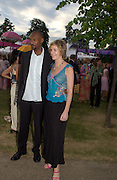 Colin Salmon, The  Summer party, hosted by the Serpentine Gallery and Robert Cavalli, 16 June 2004. 16 June 2004. SUPPLIED FOR ONE-TIME USE ONLY> DO NOT ARCHIVE. © Copyright Photograph by Dafydd Jones 66 Stockwell Park Rd. London SW9 0DA Tel 020 7733 0108 www.dafjones.com