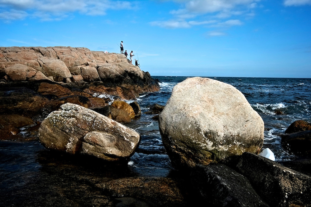 Fishermen, Hazard Rock. Narragansett, RI