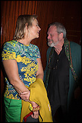 PHILIPPA WALKER; TERRY GILLIAM, Liberatum Cultural Honour for Francis Ford Coppola<br /> with Bulgari Hotel & Residences, London. 17 November 2014