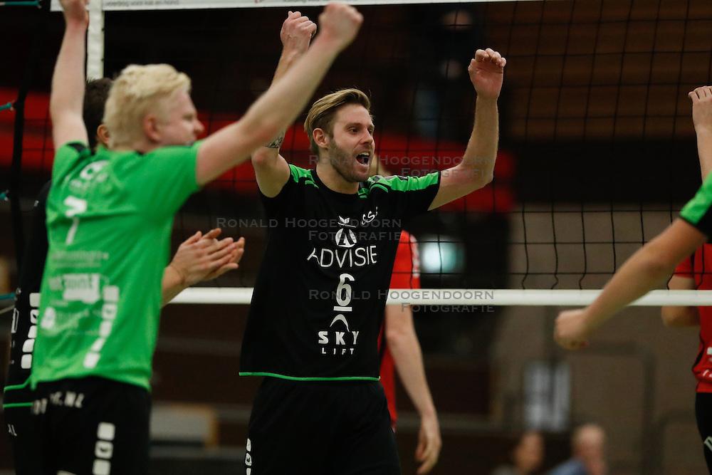 20161029 NED: Eredivisie, Vallei Volleybal Prins - Advisie SSS: Ede<br />Johan Oosting of Advisie SSS <br />©2016-FotoHoogendoorn.nl / Pim Waslander