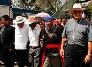 El obispo Alvaro Ramazzini fue recibido por el pueblo catÛlico de Huehuetenango con una multitudinaria caravana y misa en las instalaciones del colegio La Salle el Sabado 14 de Julio, 2012. .Ramazzini un defensor de los derechos humanos, de los migrantes y de los pueblos indigenas dejÛ el departamento de San Marcos y fue designado a Huehuetenango, ambos departamentos en la frontera con Mexico. AGENCIA BIG
