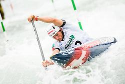 Thomas Koechlin (SUI) in Half finals during Day 4 of 2017 ECA Canoe Slalom European Championships, on June 3, 2017 in Tacen, Ljubljana, Slovenia. Photo by Ziga Zupan / Sportida