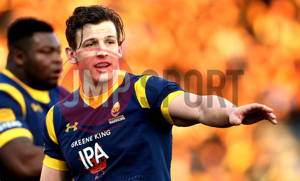 Ryan Mills of Worcester Warriors - Mandatory by-line: Robbie Stephenson/JMP - 28/01/2017 - RUGBY - Sixways Stadium - Worcester, England - Worcester Warriors v Harlequins - Anglo Welsh Cup