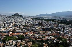 THEMENBILD - Finanzkrise in Griechenland. Bild zeigt den Ausbilck von der Akropolis auf Athen. EXPA Pictures © 2011, PhotoCredit: EXPA/ S. Zangrando
