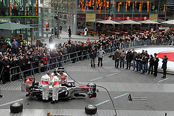 FORMEL 1: Team McLaren, Praesentation, Berlin, 04.02.2011<br /> Illustration<br /> © pixathlon