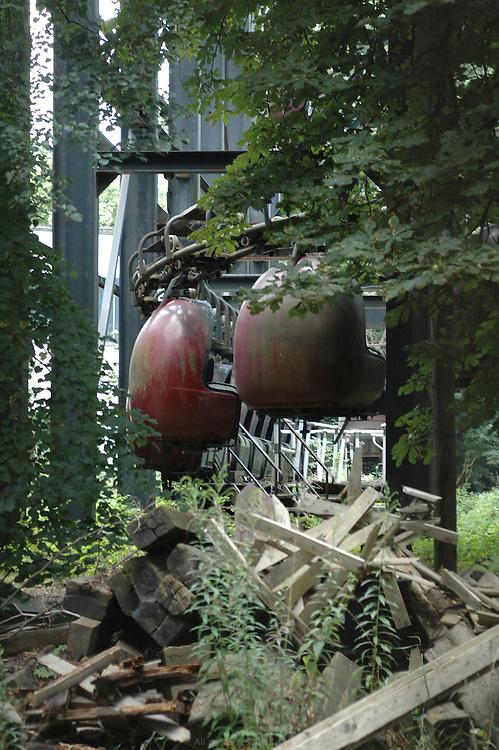 Spreepark, parc d'attraction, Berlin Allemagne