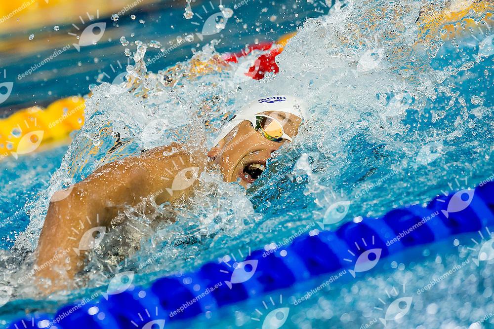 Masciopinto Ginevra ITA<br /> 4X100 Freestyle Mixed Heats<br /> LEN 43rd Arena European Junior Swimming Championships<br /> Hodmezovasarhely, Hungary <br /> Day02 07-07-2016<br /> Photo Andrea Masini/Deepbluemedia/Insidefoto