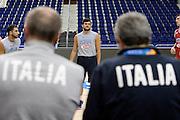 DESCRIZIONE: Berlino EuroBasket 2015 - Allenamento<br /> GIOCATORE: Alessandro Gentile<br /> CATEGORIA: Allenamento<br /> SQUADRA: Italia Italy<br /> EVENTO:  EuroBasket 2015 <br /> GARA: Berlino EuroBasket 2015 - Allenamento<br /> DATA: 08-09-2015<br /> SPORT: Pallacanestro<br /> AUTORE: Agenzia Ciamillo-Castoria/I.Mancini<br /> GALLERIA: FIP Nazionali 2015<br /> FOTONOTIZIA: Berlino EuroBasket 2015 - Allenamento