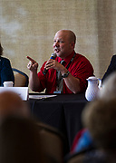 Tim Slekar from Edgewood College speaks during the Cap Times Idea Fest 2018 at the Pyle Center in Madison, Wisconsin, Saturday, Sept. 29, 2018.